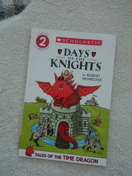 Tales of the Time Dragon #1: Days of the Knights